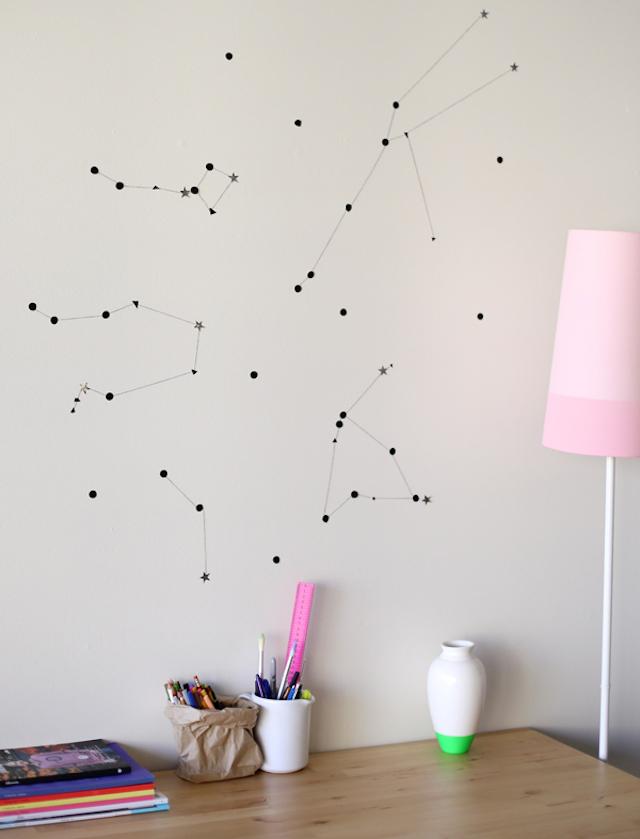 10 ý tưởng dễ như ăn kẹo để mang cả dải ngân hà vào không gian sống - Ảnh 6.