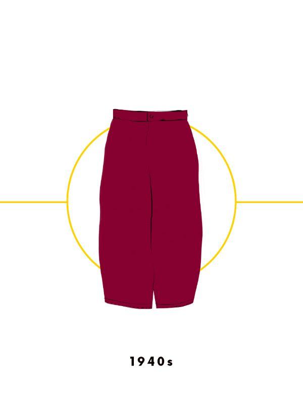 Ngược dòng về quá khứ xem sự thay đổi của chân váy qua từng thời kỳ - Ảnh 12.