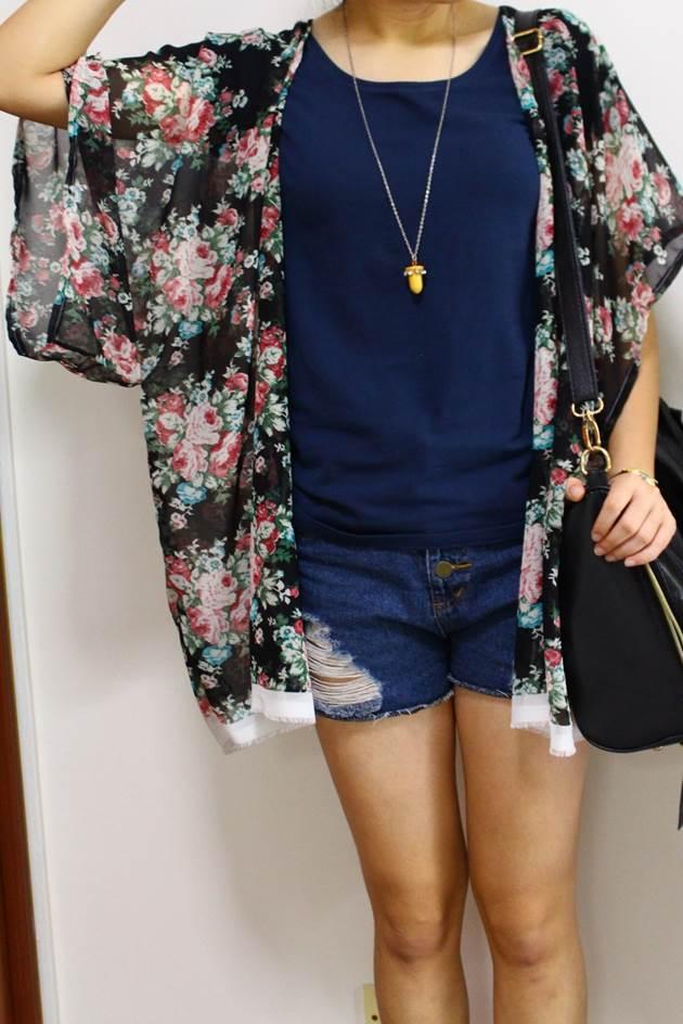 Thu sang, may áo kimono chỉ trong 30 phút diện cực hợp - Ảnh 5.