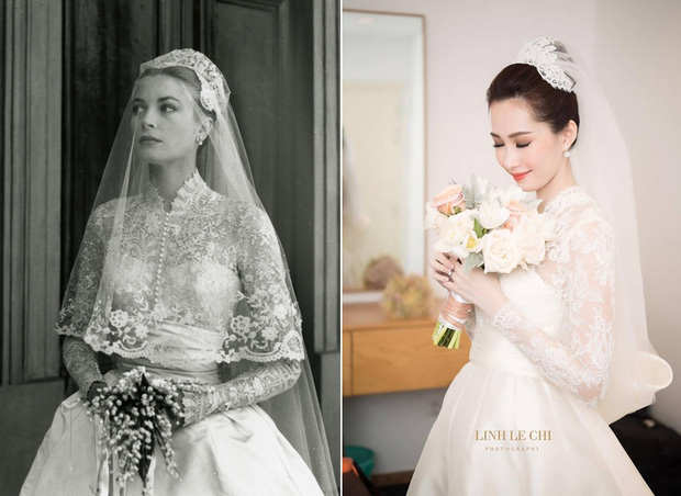 Điều bí ẩn gì đằng sau mẫu váy cưới Công nương Grace Kelly khiến cả thế giới sau 60 năm vẫn mê mẩn đến vậy - Ảnh 2.