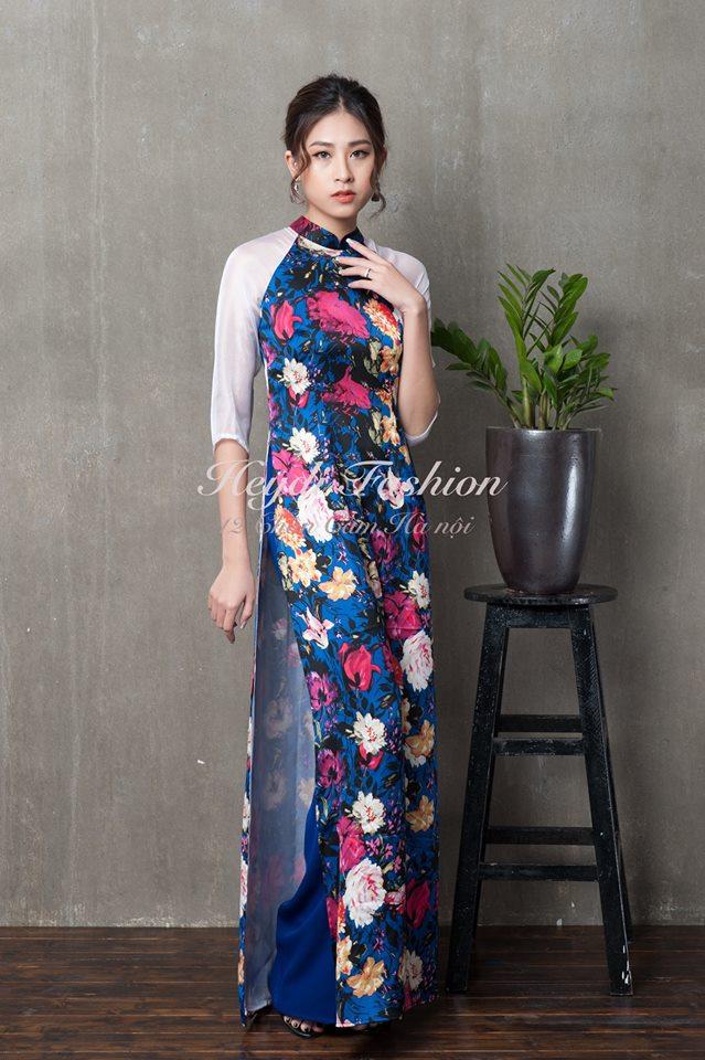 Du Xuân duyên dáng cùng loạt thiết kế áo dài truyền thống có giá dưới 3 triệu đồng - Ảnh 9.
