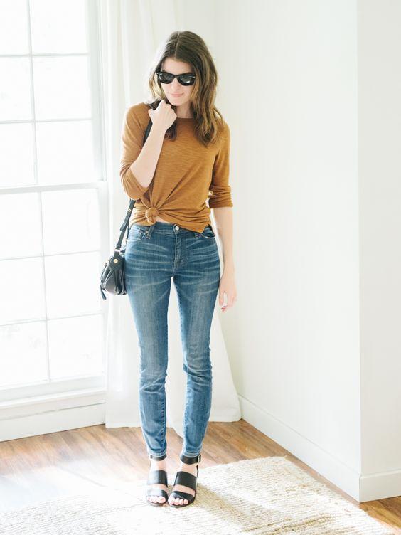 5 kiểu áo hè cứ diện cùng jeans/legging là chỉ có đẹp trở lên - Ảnh 20.