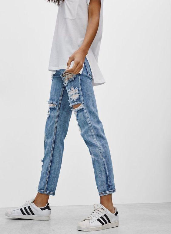 Từng kiểu quần jeans, diện cùng giày thế nào thì phải phép nhất - Ảnh 21.