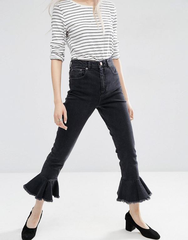 Những mẫu quần jeans sẽ làm mưa làm gió mùa Xuân/Hè 2017 này, bạn đã tìm hiểu chưa? - Ảnh 19.