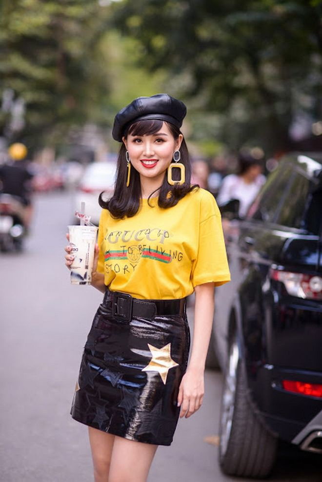 Đơn giản hết mức, nhưng áo phông của Gucci vẫn được các sao Việt và các fashionista thi nhau mặc - Ảnh 5.