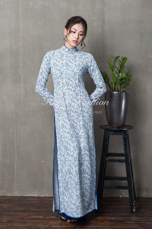 Du Xuân duyên dáng cùng loạt thiết kế áo dài truyền thống có giá dưới 3 triệu đồng - Ảnh 10.
