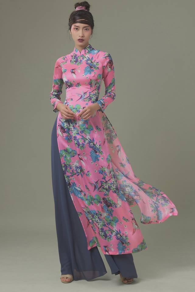 Du Xuân duyên dáng cùng loạt thiết kế áo dài truyền thống có giá dưới 3 triệu đồng - Ảnh 7.