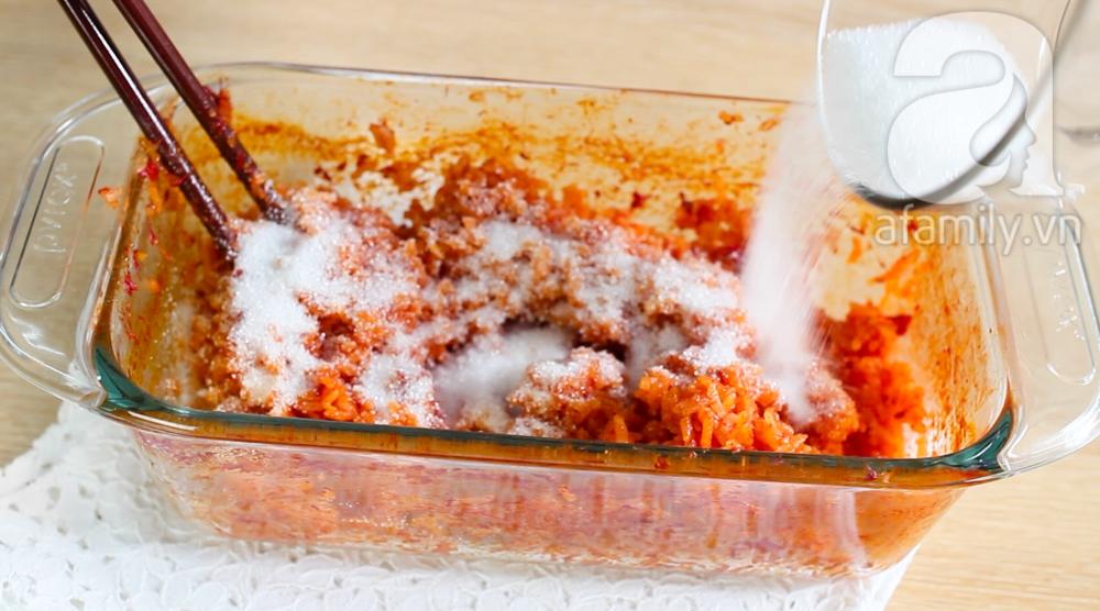 Nấu xôi gấc siêu tốc trong 15 phút cho các mẹ bận rộn ảnh 6