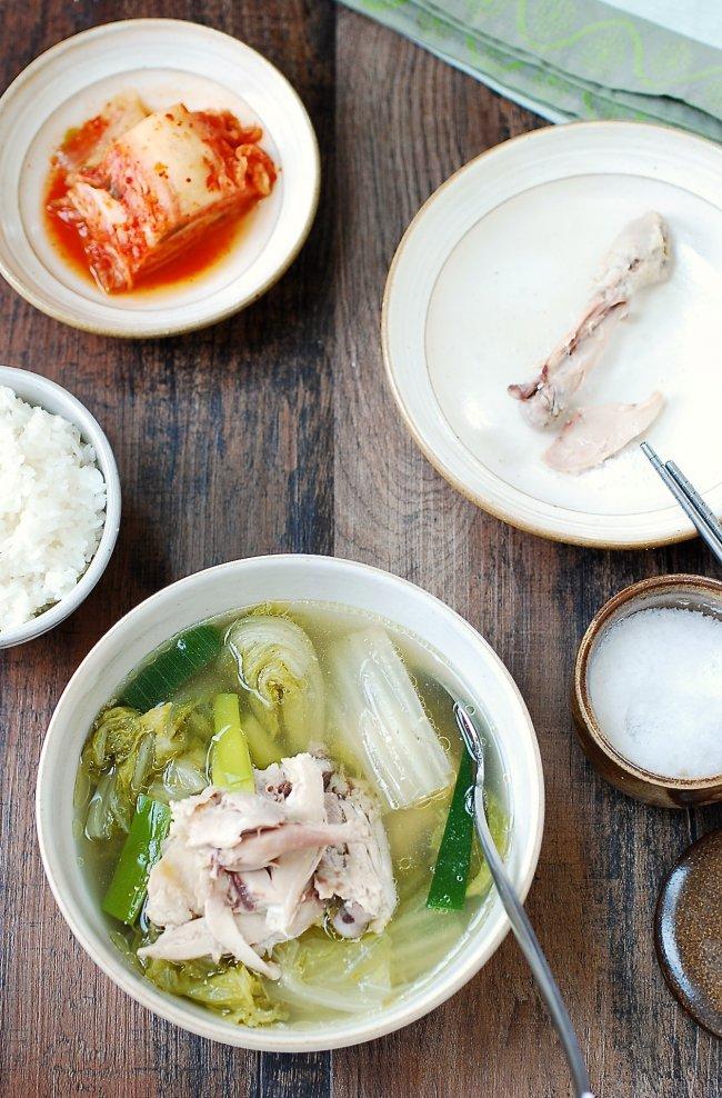 Cơm tối ngọt lành với món canh gà cải thảo - Ảnh 4.