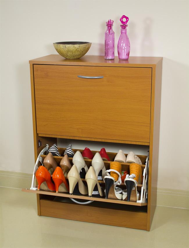 5 mẫu tủ giày nhỏ mà có võ cực tối ưu cho không gian nhà nhỏ - Ảnh 8.