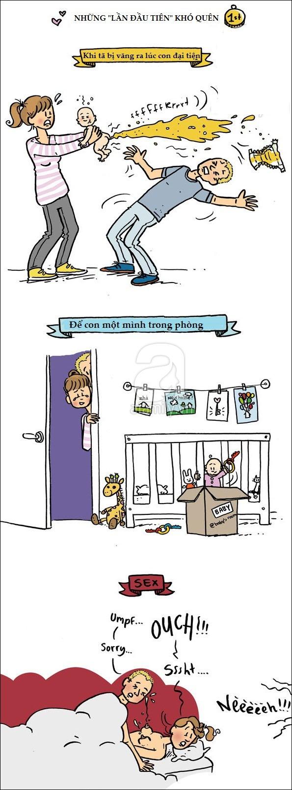 Bộ tranh hài hước phơi bày sự thật trần trụi của các bà mẹ khi mang thai và sau sinh - Ảnh 7.