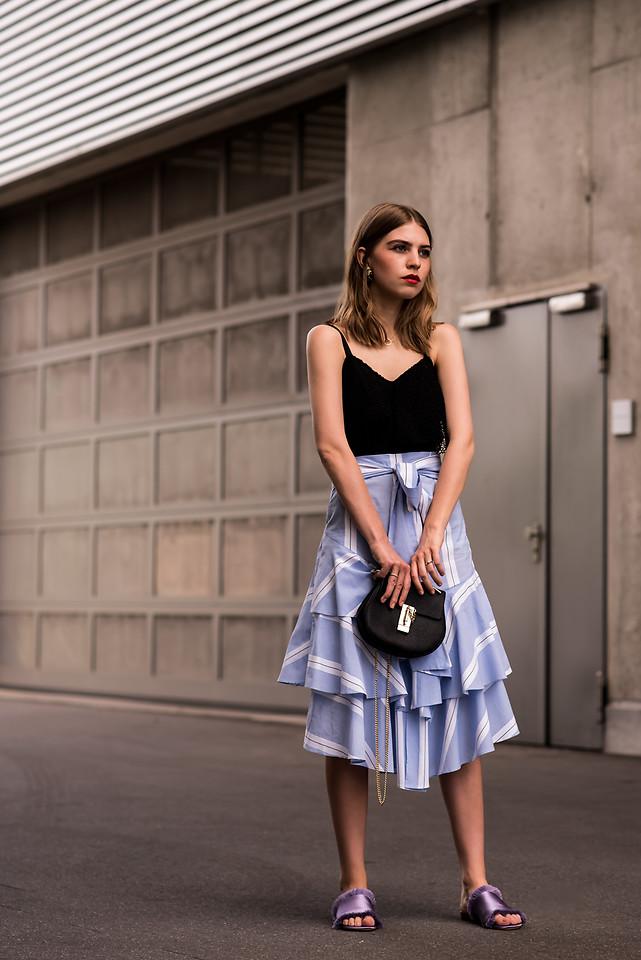 Đâu là chiếc áo diện cùng chân váy midi có thể nịnh dáng nhất - Ảnh 20.