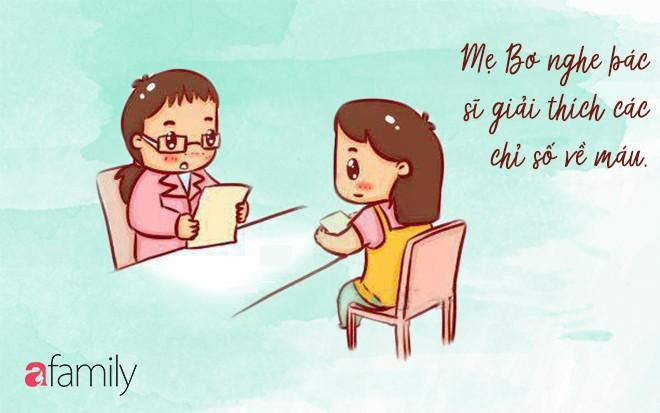 Nhật ký mẹ Bơ: Muốn thai kỳ khỏe mạnh để sinh con thông minh, chị em hãy nghe mẹ Bơ làm 6 loại kiểm tra toàn diện sau đây! - Ảnh 3.
