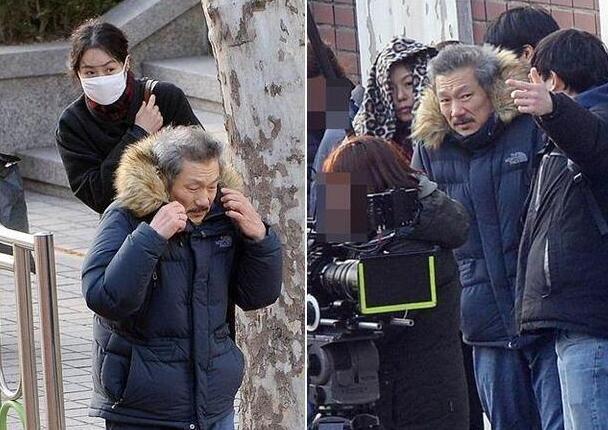 Sau nhiều tháng trốn chui trốn lủi vì ngoại tình, Kim Min Hee và tình già bất ngờ xuất hiện tại Hàn Quốc - Ảnh 1.