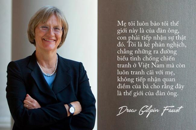 Nữ hiệu trưởng của Đại học Harvard: Thế giới này không phải của riêng đàn ông - Ảnh 4.