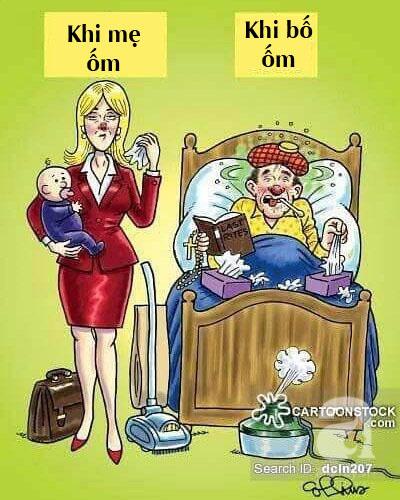 Cười ngất với chùm ảnh: Muôn kiểu khác biệt giữa bố và mẹ khi chăm con - Ảnh 14.