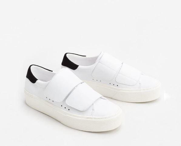 Loạt thương hiệu bình dân đã tung ra nhiều mẫu giày thể thao trắng cho các nàng tha hồ lựa chọn - Ảnh 12.