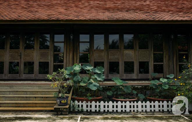 Nhà vườn mang đậm hồn Việt giữa lòng Sài Gòn của Á hậu quý bà Thu Hương - Ảnh 11.