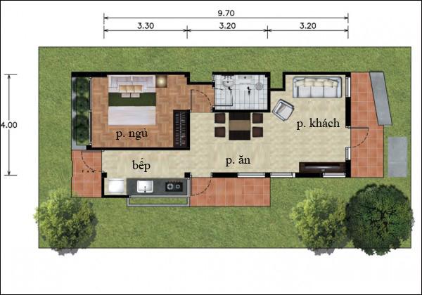 Chẳng cần cao tầng, 9 ngôi nhà 1 tầng này cũng đủ khiến bạn hài lòng về cả thiết kế lẫn công năng - Ảnh 14.