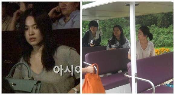 Diện đồ đơn giản, nhưng hoá ra Song Hye Kyo lại sở hữu BST túi Hermes tiền tỉ khiến nhiều người ghen tị  - Ảnh 8.
