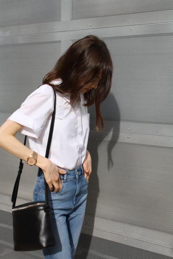 Đến quần jeans dáng sơ bản cũng có kiểu chuẩn xu hướng, kiểu không - Ảnh 8.