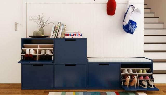 5 mẫu tủ giày nhỏ mà có võ cực tối ưu cho không gian nhà nhỏ - Ảnh 9.