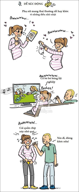 Bộ tranh hài hước phơi bày sự thật trần trụi của các bà mẹ khi mang thai và sau sinh - Ảnh 6.