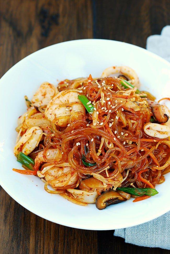 Miến xào hải sản bổ dưỡng, hấp dẫn cho những ngày chán cơm - Ảnh 10.