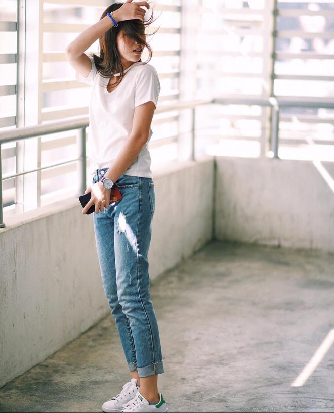 Từng kiểu quần jeans, diện cùng giày thế nào thì phải phép nhất - Ảnh 35.
