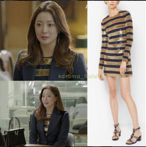 Mỹ nhân không tuổi Kim Hee Sun dát hàng hiệu không đếm xuể trong Phẩm chất quý cô - Ảnh 14.
