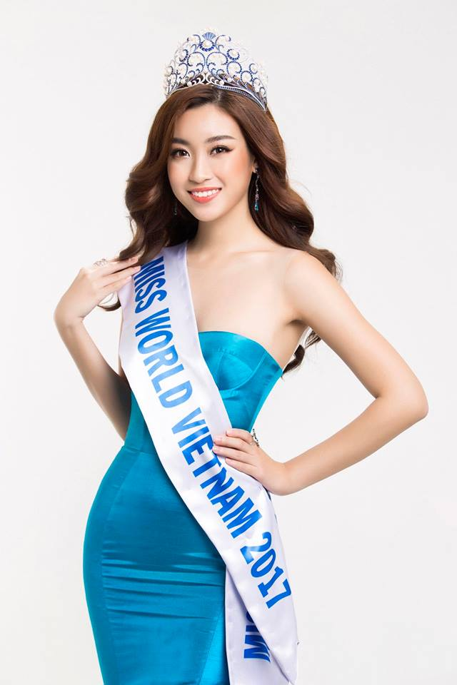 Ngay sự kiện công bố tham dự cuộc thi Hoa hậu Thế giới 2017, HH Đỗ Mỹ Linh đã bị dìm dáng không thương tiếc - Ảnh 1.