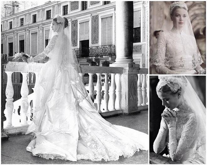 Điều bí ẩn gì đằng sau mẫu váy cưới Công nương Grace Kelly khiến cả thế giới sau 60 năm vẫn mê mẩn đến vậy - Ảnh 7.