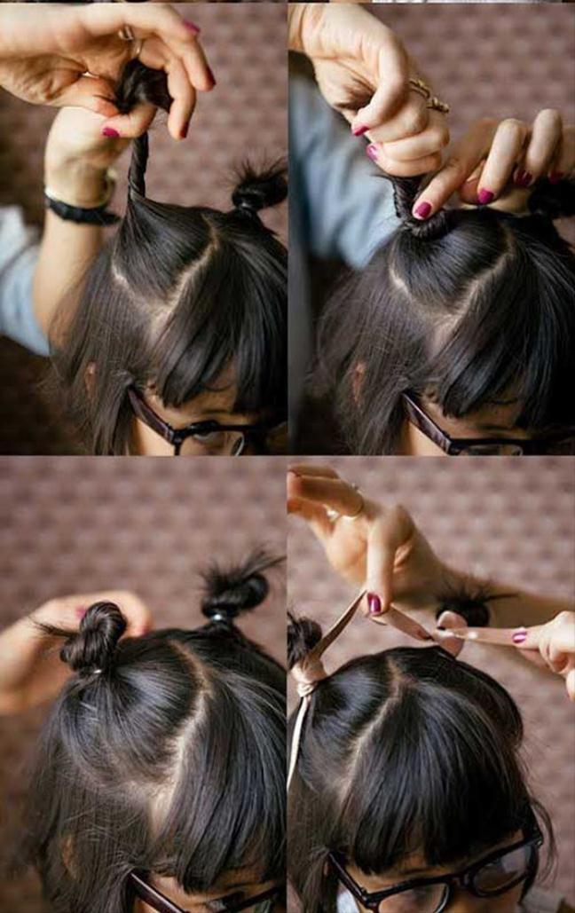 Những cách tạo kiểu với tóc ngắn đáng yêu đến lịm người cho bé gái - Ảnh 16.