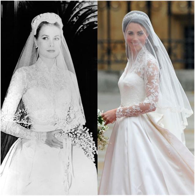 Điều bí ẩn gì đằng sau mẫu váy cưới Công nương Grace Kelly khiến cả thế giới sau 60 năm vẫn mê mẩn đến vậy - Ảnh 3.