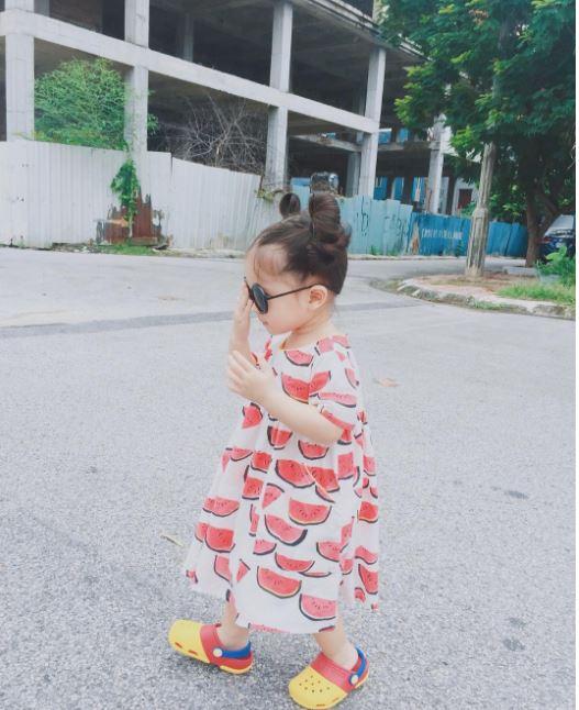 Đâu chỉ mỗi Hàn Quốc, ở Việt Nam có 4 cô nhóc này vừa xinh lại vừa mặc đẹp - Ảnh 5.