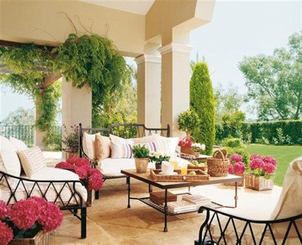 Tạo phòng khách ngoài trời đẹp như trong mơ nhờ ý tưởng trang trí sáng tạo sau - Ảnh 8.
