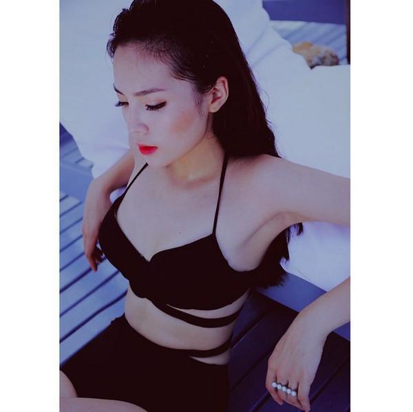 Lặn một hồi sau bão scandal, Kỳ Duyên bất ngờ khoe dáng siêu nuột với bikini nóng bỏng - Ảnh 6.
