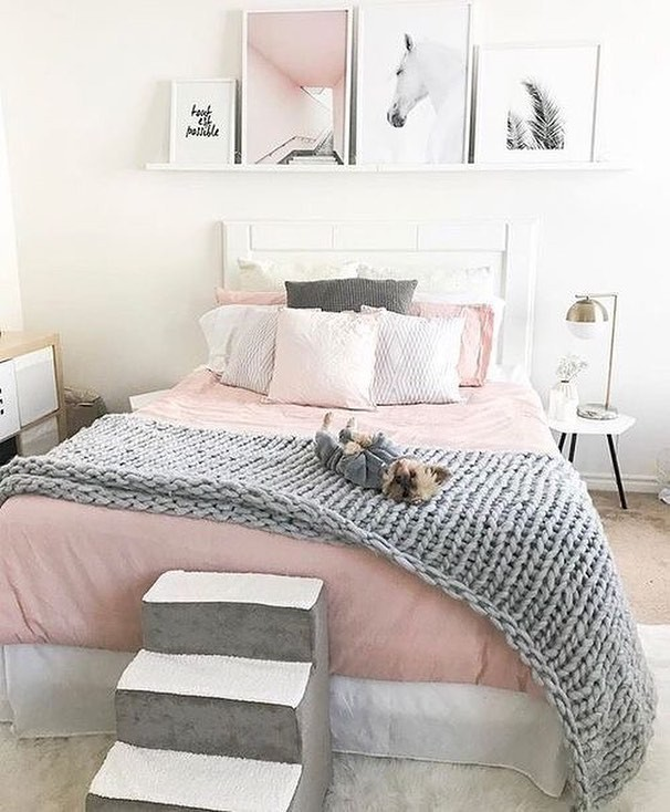 Pink Black And White Bedroom Designs Wall Art Ideas For Bedroom Bedroom Ceiling Designs 2013 Jack Wills Bedroom Wallpaper: Những Mẫu Phòng Ngủ Mùa đông Nhìn Là Thấy ���m