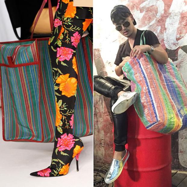 Tay xách làn đi chợ, cổ đeo vòng chìa khóa giờ mới là mốt sành điệu của giới thời trang  - Ảnh 9.
