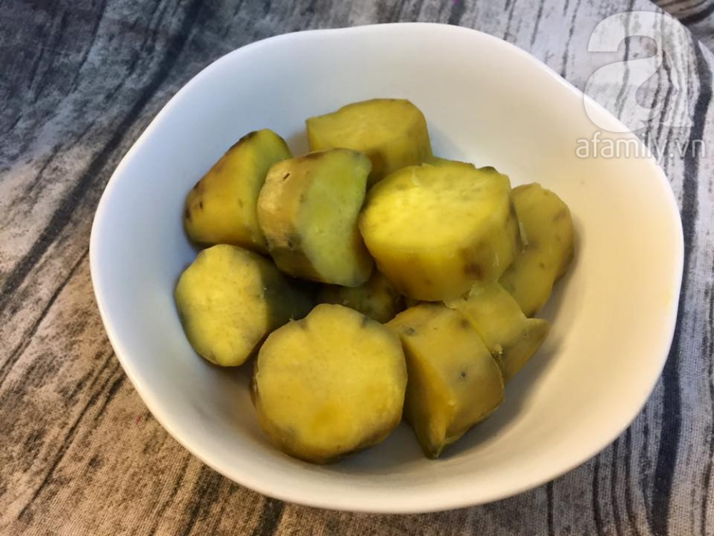 Khoai lang chip - món ăn vặt dễ làm mà ai cũng ghiền - Ảnh 1