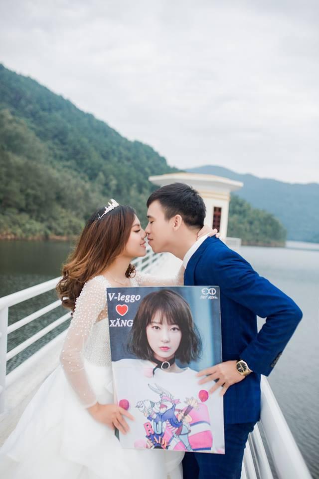 Yêu nhau nhờ cùng sở thích nghe KPop, cặp đôi bất ngờ nổi tiếng vì được sao Hàn đăng ảnh cưới - Ảnh 3.