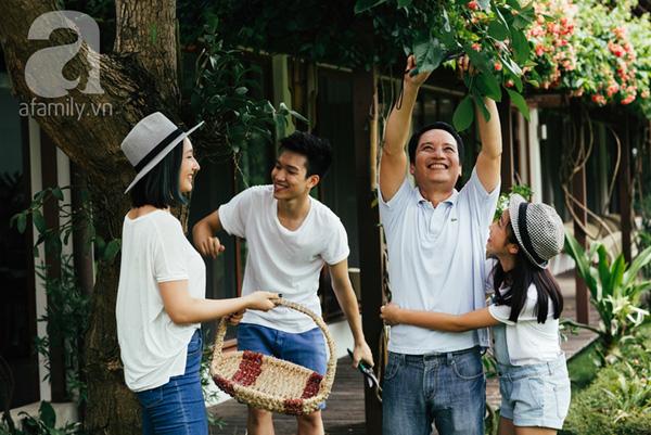 Cuộc sống bình yên của gia đình ca sĩ Mỹ Linh trong nhà vườn ngập tràn sắc hoa ở ngoại ô - Ảnh 3.