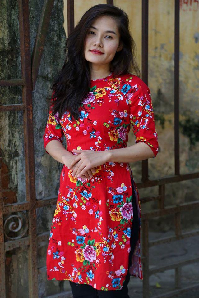 5 tiệm áo dài cách tân cực chất, giá dưới 1 triệu để đẹp cả Tết ở Hà Nội - Ảnh 2.