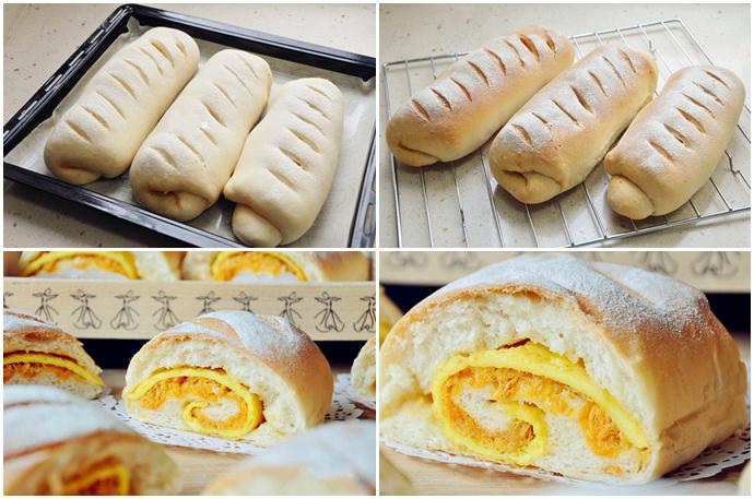 Ngày nghỉ làm bánh mì chà bông trứng chiên mời cả nhà ăn sáng - ảnh 5