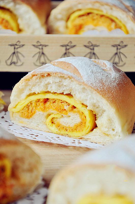 Ngày nghỉ làm bánh mì chà bông trứng chiên mời cả nhà ăn sáng - ảnh 6