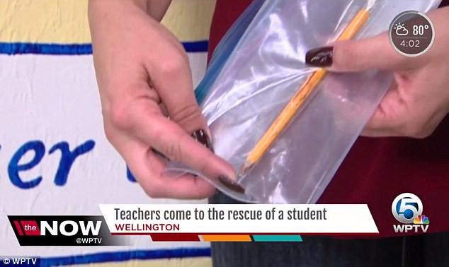 Cậu bé này tưởng như đã chết bởi vì cây bút chì trong cặp đi học - Ảnh 2.