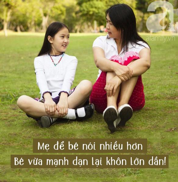 Nếu mẹ muốn con tự tin trong giao tiếp, sớm tự lập thì đừng quên 13 điều cần làm mỗi ngày này nhé - Ảnh 2.