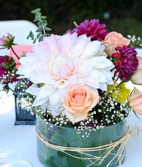 4 cách cắm hoa trang trí nhà đẹp mê mẩn - Ảnh 5.
