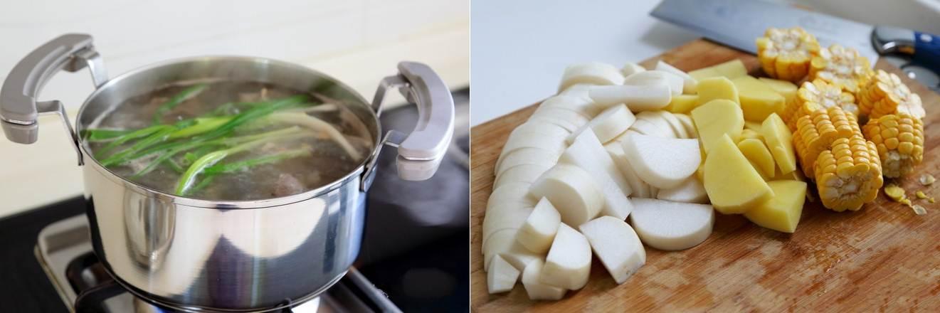 Canh xương nấu rau củ món đơn giản mà ngon cho bữa cơm ngày nóng - ảnh 2