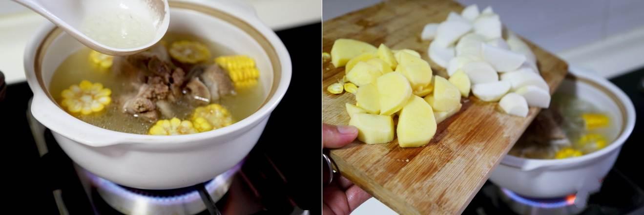 Canh xương nấu rau củ món đơn giản mà ngon cho bữa cơm ngày nóng - ảnh 3